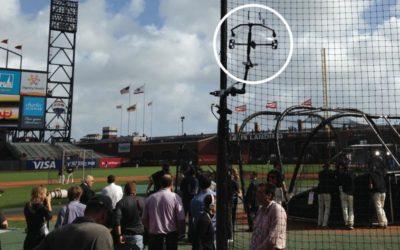 KLOVER MiK 16 Parabolic Mics Used At 2014 World Series