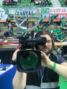 KLOVER MiK 09 parabolic microphone on Video Camera at EuroSport VTB (960x1280)